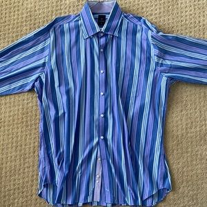 TailorByrd Button Down Dress Shirt XXL